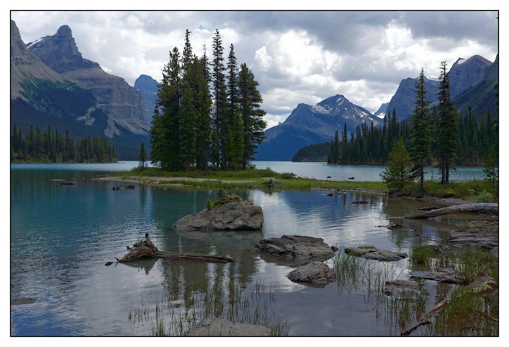Les lacs de l'ouest canadien J12-6