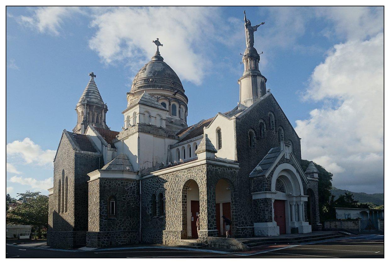 Martinique 2015 Sud (reportage complet) Eglise-Balata
