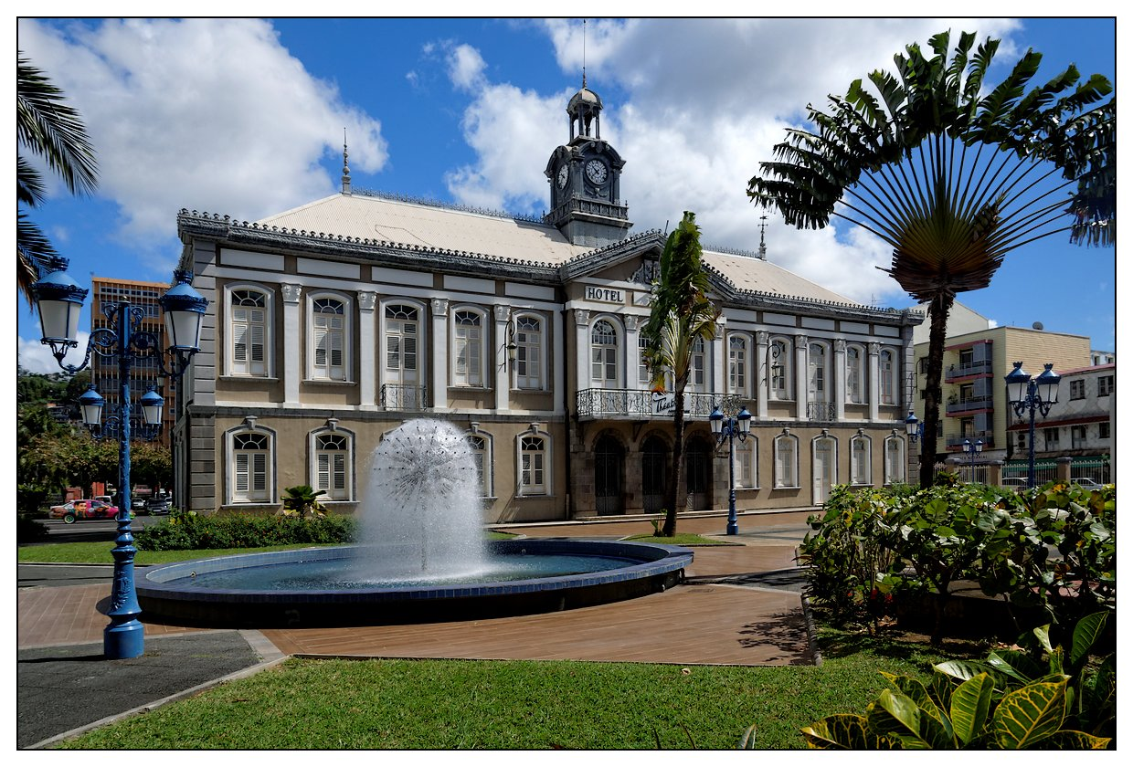 Martinique 2015 Sud (reportage complet) Ancienne-mairie-FDF